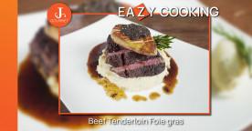 Beef Tenderloin foie gras สเต๊กเนื้อสันในและฟัวกราส์ [เมนูเข้าครัว VDO]