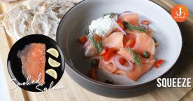 Classic Smoked Salmon แซลมอนรมควัน หอมกลิ่นรมควันอันมีเอกลักษณ์ [VDO]