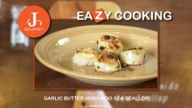 Garlic Butter Hokkaido Seascallop โอฮาโย~ หอยเชลล์ฮอกไกโดผัดเนยกระเทียม พร้อมเสิร์ฟแล้วครับ (VDO Clip)