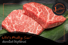 J The Series : Meat EP.3 What is Beef Marbling Score? เลือกเนื้อดี ให้ดูที่สกอร์