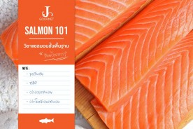 J the series : Salmon101 วิชาแซลมอนขั้นพื้นฐานที่คนไทยควรรู้
