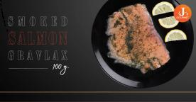 Smoked Salmon Gravlax แซลมอนรมควันกราฟลักซ์ ความหอมหวานที่แตกต่าง [VDO]
