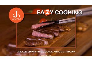 Ebony Prime Black Angus Striploin