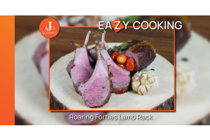 Grilled Roaring Forties Lamb Rack เนื้อซี่โครงแกะออสเตรเลียย่าง