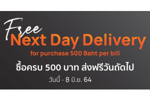 500 free next day delivery